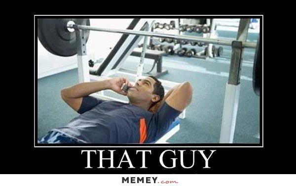 Funny Annoying Gym
