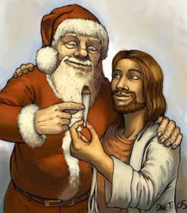 Jesus_and_Santa_by_nineself - Copy